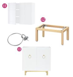 Using IKEA's SEKTION wall cabinet get the step-by-step instructions here.