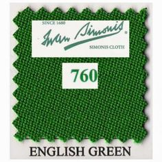 Kit tapis Simonis 760 7ft UK English Green - 125,00 €  #Jeux