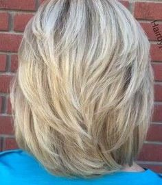 Frisuren Hairstyles for every type and occasion . Medium Hair Cuts, Short Hair Cuts, Medium Hair Styles, Short Hair Styles, Short Hair With Layers, Hair Color And Cut, Great Hair, Hairstyles Haircuts, Fine Hair