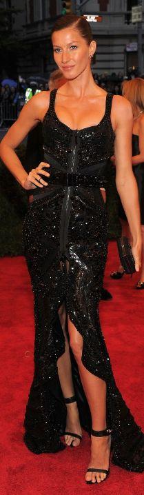Givenchy.  Gisele.  2012 Met Gala.