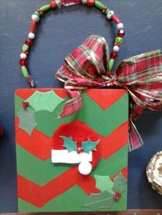 Chevron Christmas purse by Cyndi Greer☆☆