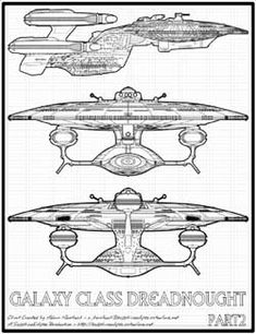 Galaxy Class Dreadnought - II