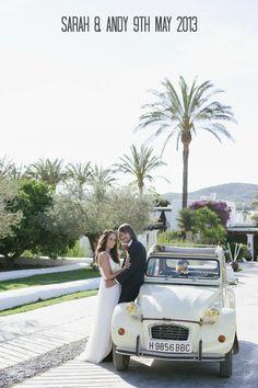 Magical Ibiza Wedding at Atzaro By Ana Lui
