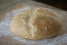 """Hands down the best bread recipe I've made!"" Make TWO loaves from one EASY Italian Bread recipe. It's soft on the inside with a slightly crunchy crust. Savoury Baking, Bread Baking, Fresh Bread, Sweet Bread, Italian Bread Recipes, Biscuit Bread, Yeast Bread, Best Bread Recipe, Dessert Bread"
