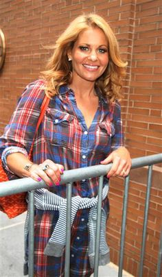 """Candace Cameron Bure arrives at ABC's """"The View"""" in New York City on July 6, 2015."""