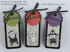 Googly Ghouls Tags by jillastamps - Cards and Paper Crafts at Splitcoaststampers