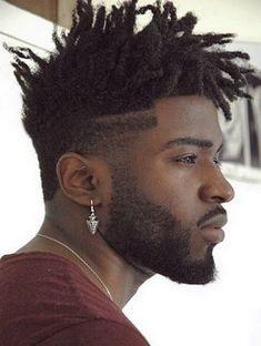 stylish-medium-dreaklocks-spiky-hairstyle-for-black-men   african ...