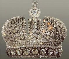 The Imperial Crown of Russia, also known as the Small Imperial Crown, was used by the Emperors of Russia until the monarchy's abolition in 1917.