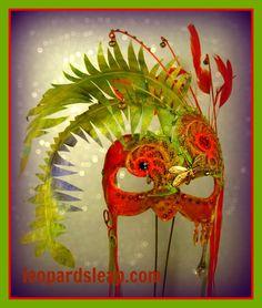 Fern Fairy Masquerade Mask