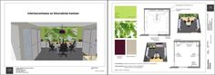 www.sketchupcursus.nl - SketchUp 3D - LayOut - kantoor My Room, Floor Plans, Layout, 3d, Page Layout, Floor Plan Drawing, House Floor Plans