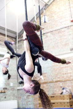 trapeze. harder than it looks!