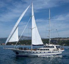 Superior wg ci 014 gulet charter Croatia and Montenegro 30meters