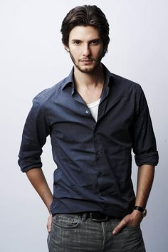 Ben Barnes okay, his eyes... they pierce your soul!