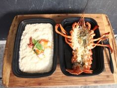 Lobster Risotto from eat street