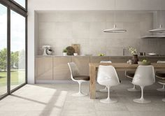 600 x 600 concrete splashback tiles - Google Search