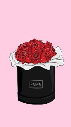 Rose Gold Glitter Wallpaper, Pink Wallpaper, Chanel Decor, Chanel Art, Chanel Wallpapers, Cute Wallpapers, Matching Wallpaper, Flower Silhouette, Line Art Tattoos