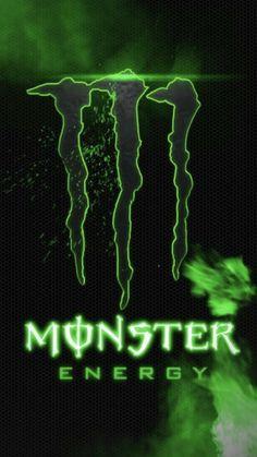 Black Phone Wallpaper, Monster Energy, Animal Art, Wallpaper, Cool Wallpaper, Monster, Green Aesthetic, Art, Energy Pictures