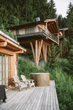 5 summer days in South Tyrol Design Hotel, Boutique Hotels, Wooden Lodges, Dining Corner, Spa Hotel, Standing Bath, Small Hallways, Austria Travel, Places In Italy