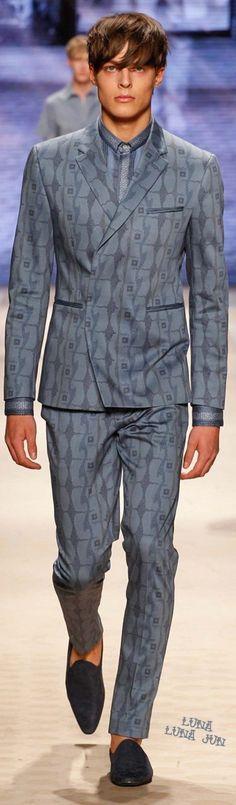 www.2locos.com Etro Spring 2016 Menswear
