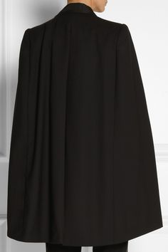 Band of Outsiders | Wool-crepe cape | NET-A-PORTER.COM