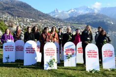 Oxfam are in Geneva alongside peace activists from Syria and around the world, demanding that Syrian women and civil society be allowed to take their rightful place in the Geneva 2 peace talks. SHARE if you agree.