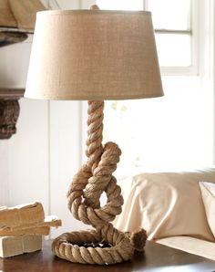 Unique Rope Table Lamps