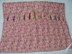 Muave Crochet Hook Organizer $10.00