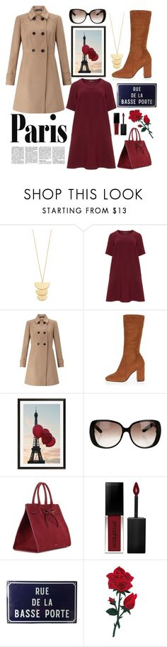 """amour."" by adriastar ❤ liked on Polyvore featuring Gorjana, Manon Baptiste, Miss Selfridge, River Island, Pottery Barn, Gucci, Mansur Gavriel and Smashbox"