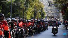 Antalya'da 500 Motorcudan Terör Protestosu