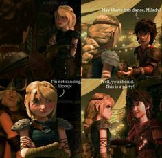 -May I have this dance? I have worked on a new comic row. I'm gonna bombard you with hiccstrid romancee! Dreamworks Dragons, Dreamworks Animation, Disney And Dreamworks, Hiccup Y Astrid, Hogwarts, Song Night, Httyd 2, Night Terror, Dragon Rider