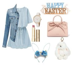 """Happy easter👑😘"" by k-praumova on Polyvore featuring LE3NO, Mansur Gavriel, Stila and Natasha"