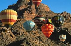 Hot Air Balloons International day in Jordan