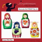 This sweet set of Mastroyka Doll Clip Art would be perfect for classroom decoration or a unit on Russian culture.  Maybe you can manipulate the siz...