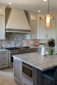 19+ Taupe shaker kitchen model