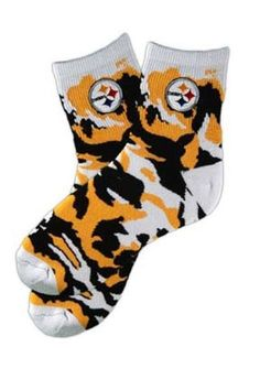 Picture of Pittsburgh Steelers Camo Quarter Socks