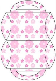 114 pieces-Lg Party Printable Set---AQUARELINHA: Kit Flor rosa e branco