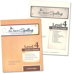 All About Spelling Level 4 Materials | Main photo (Cover)