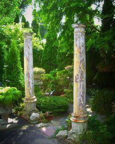 Columns In Landscape Design
