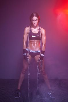 ~ FITNESS MODELS ~ my unrealistic goal. haha maybe not the insane abs for me but she is awesome!