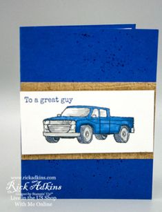 Man Birthday, Birthday Cards, Masculine Cards, Metal Stamping, Hello Everyone, Stampin Up Cards, Mini, Facebook, Card Making