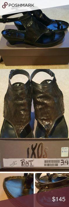Selling this iXOs, Italian-made Sandals, Soft Leather, Fits 8.5 on Poshmark! My username is: englishmu. #shopmycloset #poshmark #fashion #shopping #style #forsale #iXOS #Shoes