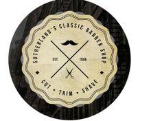 Rundes Logo mit Piktogrammen 2