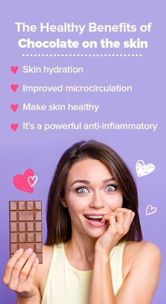 """Chocolate is an asset that succeeds at being both effective and easy to apply in every part of the body. When it comes to """"chocotherapy"""", there are many ways in which the benefits of chocolate are enhanced to directly protect the skin. Chocolate Benefits, Body Waxing, Healthy Skin, How To Apply, Bath, Bathing, Healthy Skin Tips, Bathroom, Bathtub"""