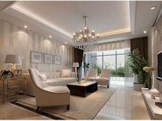 As sancas de gesso são peças decorativas que servem de moldura para teto e parede. Conheça os modelos e veja como usar nos ambientes da casa.