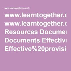 www.learntogether.org.uk Resources Documents Effective%20provision%20for%20GT%20students%20in%20secondary%20education.pdf