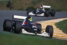 JJ Lehto, Interlagos 1993,  Sauber C12... (followed by team mate Karl Wendlinger)