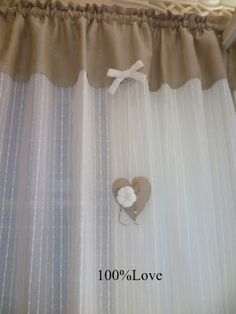100%LOVE: Tende Country/Shabby