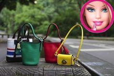 Coach purses for Barbie.