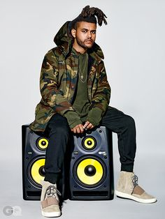 The Weeknd Models Kanye West's Yeezy Collection for GQ | Rap-Up