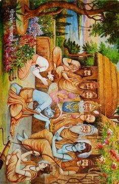 Shiva Art, Krishna Art, Hindu Art, Hanuman Photos, Radha Krishna Pictures, Ram Sita Image, Lord Sri Rama, Shri Ram Photo, Lord Hanuman Wallpapers